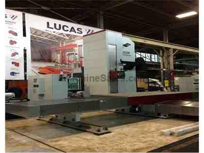 (Remanufacturered) Lucas Model 40T1210 CNC Table Type Horizontal Boring Mil