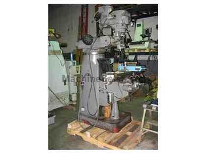 "Alliant Model #RT-2 Vertical Milling Machine, Variable Speed, 9"" x 42"""