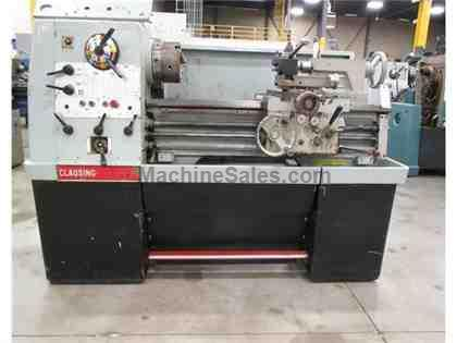 "CLAUSING COLCHESTER 8030 GEARED HEAD ENGINE LATHE, 15"" X 30"""