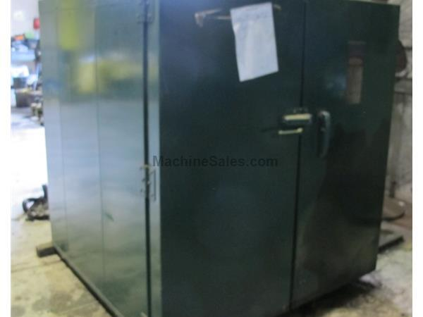"STEELMAN 450 F GAS FIRED WALK IN OVEN, 48""W 48""L 51""H"