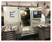 EUROTECH BIGLIA 5 AXIS TURNING CENTER MODEL: BIGLIA 735 SLY NEW: 2005
