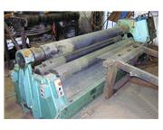 """ROUNDO PS-205/8 3/8"""" x 8' Double Pinch Hydraulic Plate Roll"""