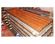 """49.5 x 196"""" T-Slotted Cast Iron Floor Plate"""
