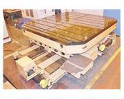 "118"" x 118"" TOSHIBA BR-30 NCC-12 CNC Infeeding Rotary Table"