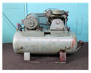JOHN WOOD CO HORIZONTAL AIR COMPRESSOR