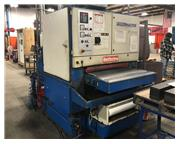 "STEELMASTER SPW209RT 37"" Wet Deburring & Finishing Machine"