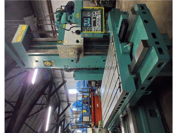 "5"" SPINDLE GIDDINGS & LEWIS CNC HORIZONTAL BORING MILL"
