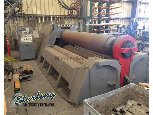 "10' x 2-1/8"" Malco # CLI-HY4R , 4-roll plate roll, Fagor CNC control, used, 1994, #C5048"