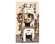 25 Ton, Hidaka Mark # 25 , light curtain, hydraulic overload protection, dual counterbalan