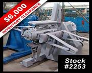 CLEARANCE! 6000 Lb x 20″ EGAN #M601-20 Single Uncoiler