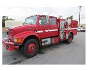 2000 International Crew Cab Type 3 Fire Engine