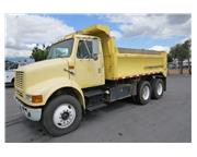 2000 International 3 axle Dump Truck Model 8100