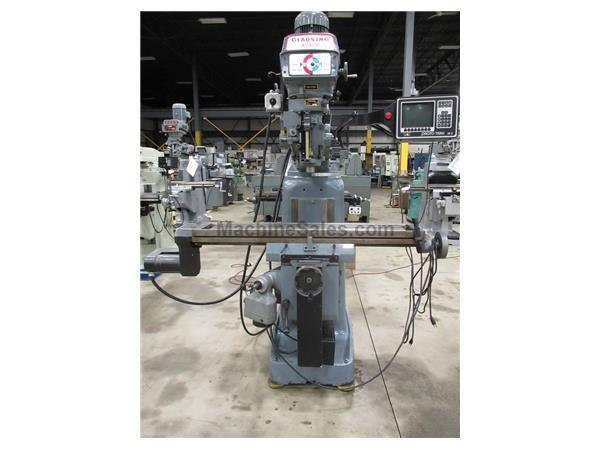 Used CLAUSING KONDIA FV-1 2-AXIS CNC VERTICAL MILL WITH