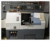1992 Leadwell LTC-10BP CNC Lathe LNS Quick Load Bar Feed Fanuc OTF Control