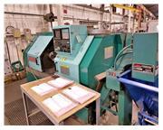Methods Slant 50 CNC Lathe Yasnac LX-3 CNC Controls  New 1994