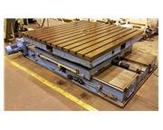 """126"""" x 126"""" Scharmann TDV6 Infeeding Rotary Table"""