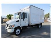 2005 Hino 165 Box Van Truck