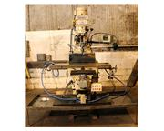 WILLIS 1250 II HEAVY DUTY KNEE TYPE MILLING MACHINE NEW: 2001