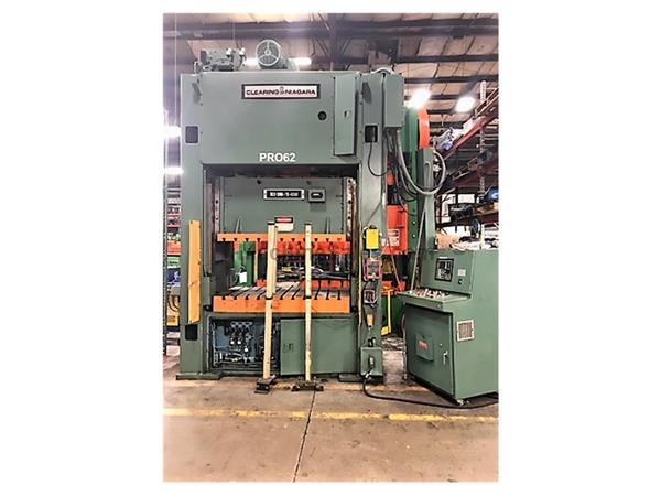 200 Ton Clearing Niagara SSDC Press Model 200-72-42UH