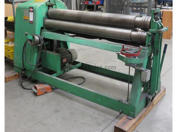 5′ x 3/16″ NEW DIMENSION BENDING ROLL, MODEL 5.250