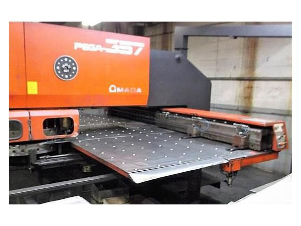 33 Ton Amada Pega 357 Turret Punch Press
