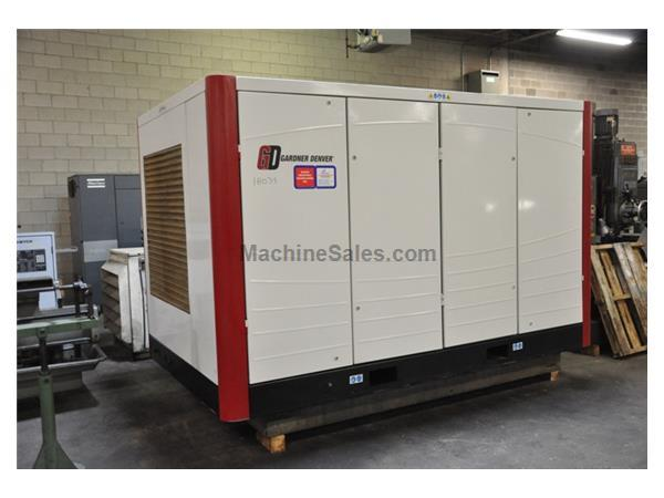 100 HP GARDNER DENVER 2 STAGE AIR COOLED ROTARY SCREW AIR COMPRESSOR