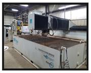 "FLOW WATERJET CUTTING SYSTEM, Mach 3, 2008, 6'6"" x 13', 10"