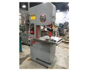 1985 USED DO-ALL MODEL 2013V VERTICAL BANDSAW, 20""