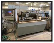 "OMAX CNC WATERJET CUTTING SYSTEM, #2652, 26"" x 52"", 25 H.P. Flow 60,000KPSI"
