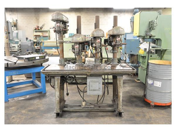 "15"" ROCKWELL DELTA 4 SPINDLE DRILL"