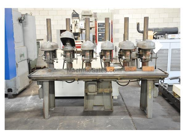 "15"" ROCKWELL DELTA 6 SPINDLE DRILL"