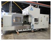 "2008 SHARP SV-8045A BRIDGE TYPE VERTICAL MACHINING CENTER, 80"" x 45&am"