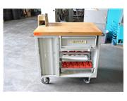 ROLLING TOOL CART WITH MAPLE TOP