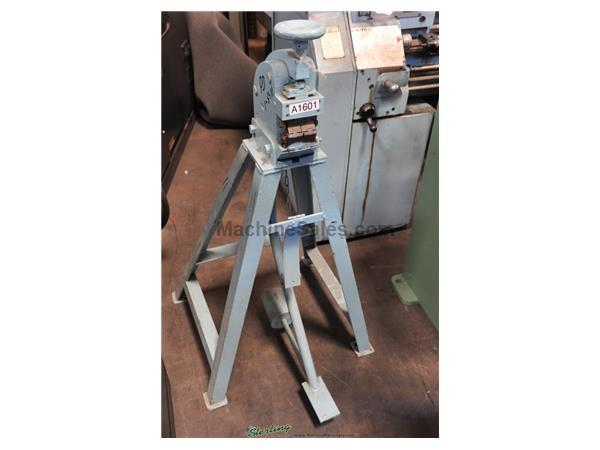 Marchant # 6FG , foot shrinking & stretching machine, 16 gauge, set of stretching jaws, #A1601