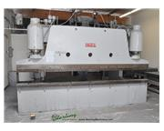 "150 Ton, Pacific # K-150-14 , heavy duty hydraulic press brake,14' OA,38"" deep throat"