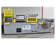 ".250"" -.635"" Lewis # 10-FHA , wire straightening & cut-off machine w/barfeed, #A"