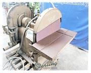 "30"" Wysong & Miles # 310 , heavy duty dual disc sander, s/n #DDS1-130, used, #A4796"