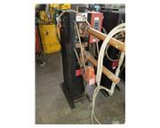 """30 KVA Janda # R30-24 , 24"""" throat, rocker arm resistance, spot welder, 400 V., foot"""
