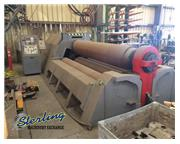 "10' x 2-1/8"" Malco # CLI-HY4R , 4-roll plate roll, Fagor CNC control, used, 1994, #C5"