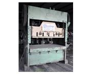"150 Ton, Chicago , straight side double crank punch press, 84"" x 48"" bed, air cl"