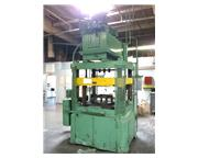 175 Ton, Columbus Industries, Trimmer, 4-post hydraulic trim press, 4-way can trimming att