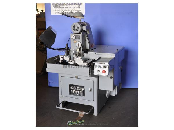 "Sunnen # MBB-1800 , .060"" -6.5"", power stroking attach., lots of tooling, foot pedal, #A3095"