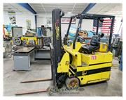 2200 lb. Drexel # SLT22 , electric swing mast forklift, battery, PSL programmable security