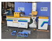 110 Ton, Geka , single end, Fagor CNC control & PAXY CNC plate position & punch system, #A