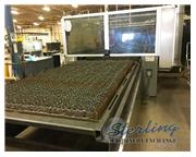 "Cincinnati # CL-440 , 4000 watt, Co2, 60"" x 120"" table., fume collection plenum,"