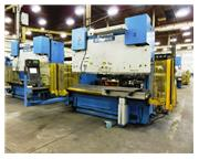 250 Ton, Pullmax # 250.3.1/2.55 , 12' OA, Optima, 6-Axis CNC, s/n #4891, used, #A4301