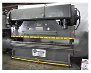 "100 Ton, Verson # TA-510 , mechanical press brake, 12' OA, 126"" BH, 12"" str,5&qu"