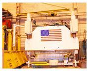 440 Ton, LVD # PPN400/4500 , hydraulic, 14' OA, lwr die hldr, remote palm control, foot pe