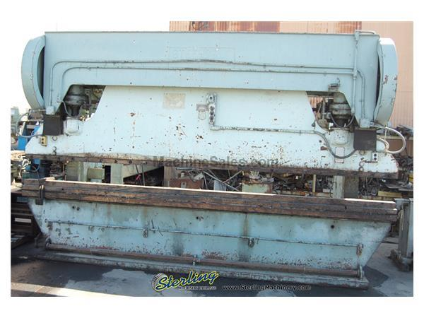240 Ton, Steelweld # H3 , 16' OA, mech.cl.& brake, power.ram adj., auto lube, 10 HP, #4273
