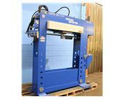 "100 Ton 16"" Stroke Pressmaster HFBP-100/20 MWH H-FRAME HYDRAULIC PRESS, 20 ton Broach"